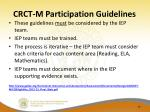 crct m participation guidelines1