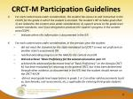 crct m participation guidelines4