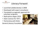 literacy forward