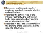 deliverable d6 2