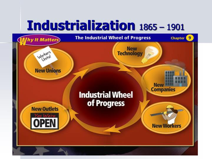 industrialization 1865 1901 n.