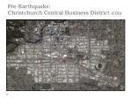 pre earthquake christchurch central business district cbd