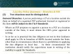 3 a key policy questions branches fos