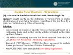 3 a key policy questions pcf functions