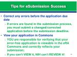 tips for esubmission success3