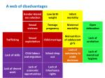 a web of disadvantages5