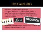 flash sales sites