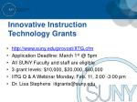 innovative instruction technology grants