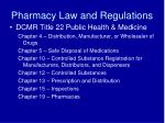 pharmacy law and regulations1