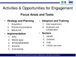 activities opportunities for engagement5