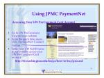 using jpmc paymentnet