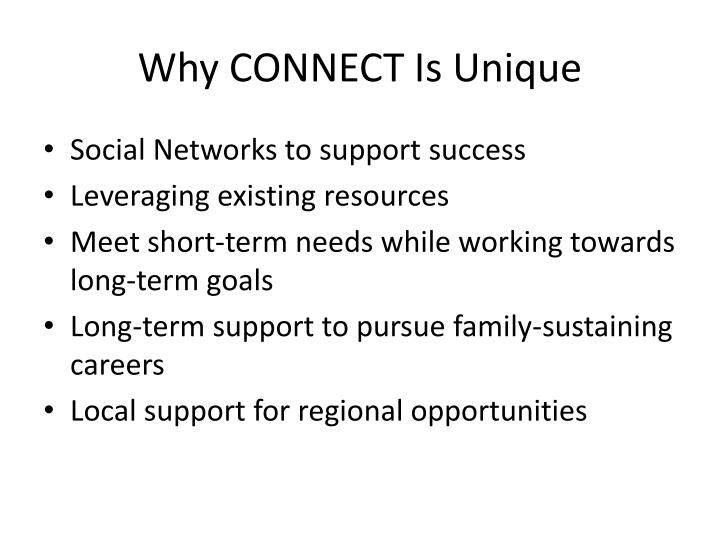 Why CONNECT Is Unique