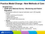 practice model change new methods of care13