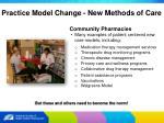 practice model change new methods of care15