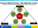 practice model change new methods of care16