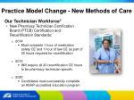 practice model change new methods of care18