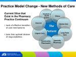 practice model change new methods of care5