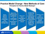 practice model change new methods of care7