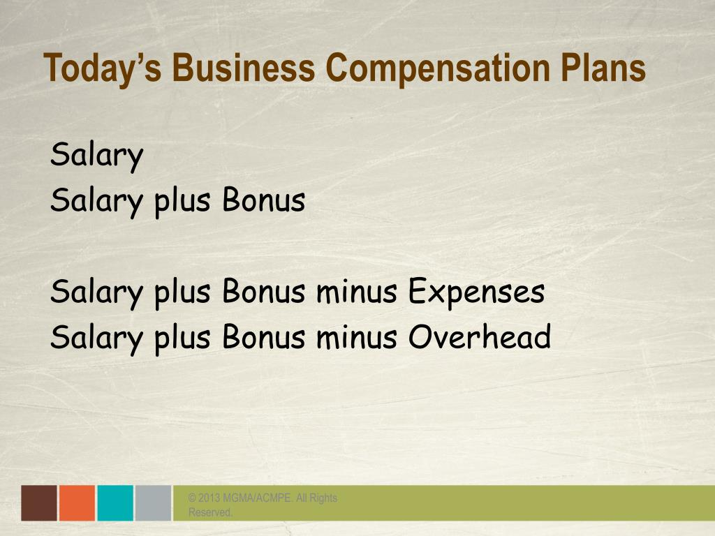 PPT - The Evolution of the Physician Compensation Plan: Volume to