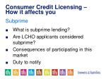 consumer credit licensing how it affects you13