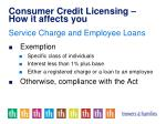 consumer credit licensing how it affects you6