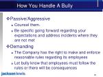 how you handle a bully1