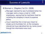 success of lawsuits2