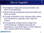 who is targeted