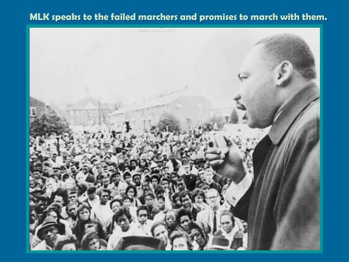 MLK speaks