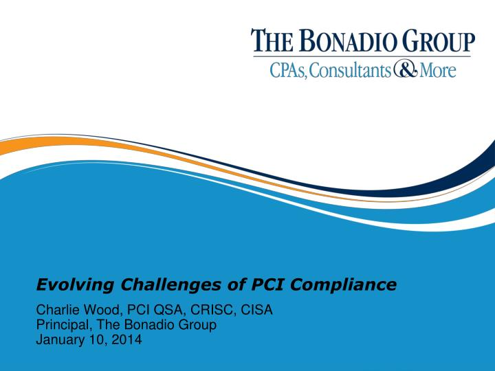 evolving challenges of pci compliance n.