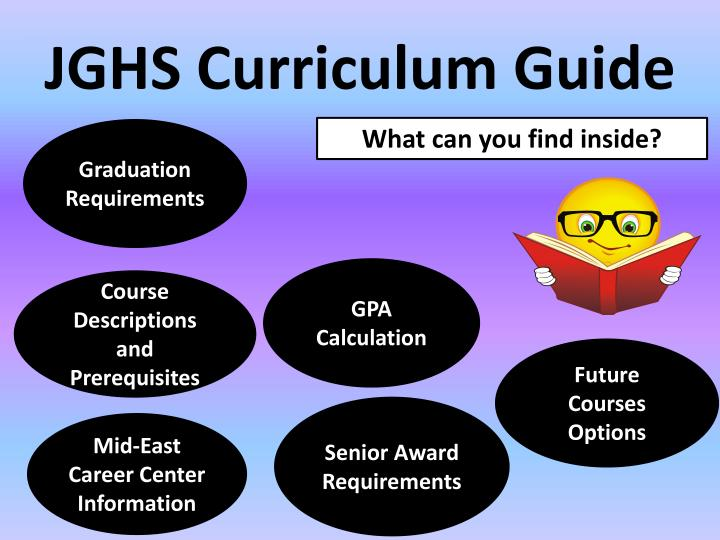JGHS Curriculum Guide
