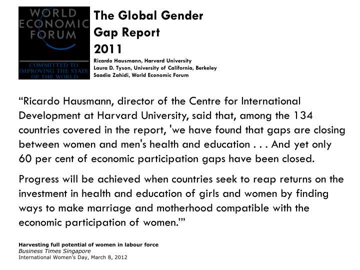 The Global Gender