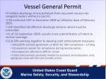 vessel general permit