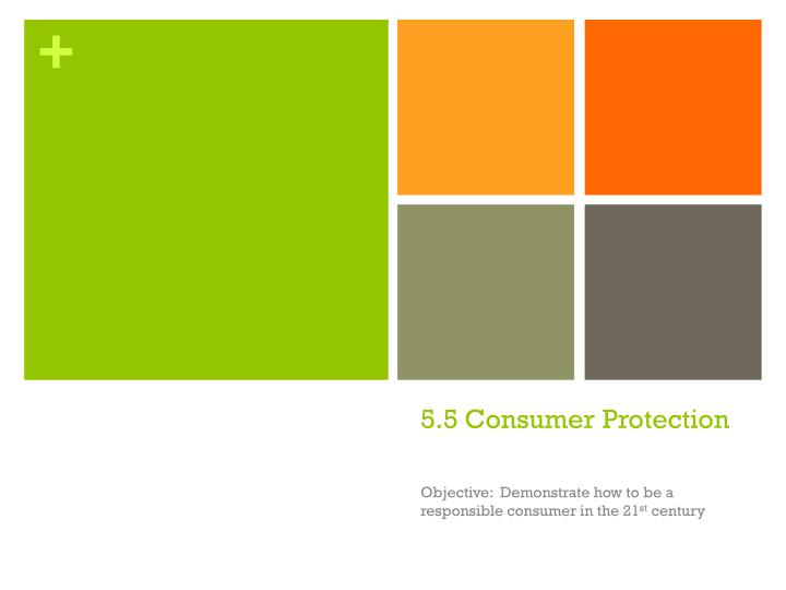 5 5 consumer protection n.