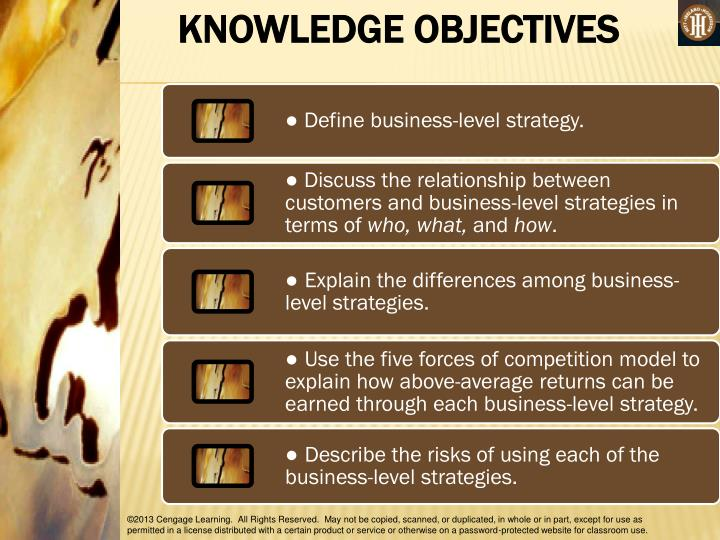 describe starbucks business level strategy
