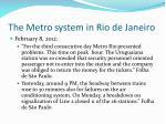 the metro system in rio de janeiro1
