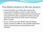 the metro system in rio de janeiro2