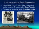 5 3 causes of the great depression