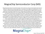 magnachip semiconductor corp mx