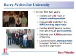 barry wehmiller university2
