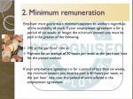 2 minimum remuneration