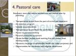 4 pastoral care