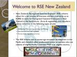 welcome to rse new zealand