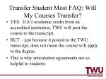 transfer student most faq will my courses transfer