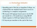 1 1 technology initiative