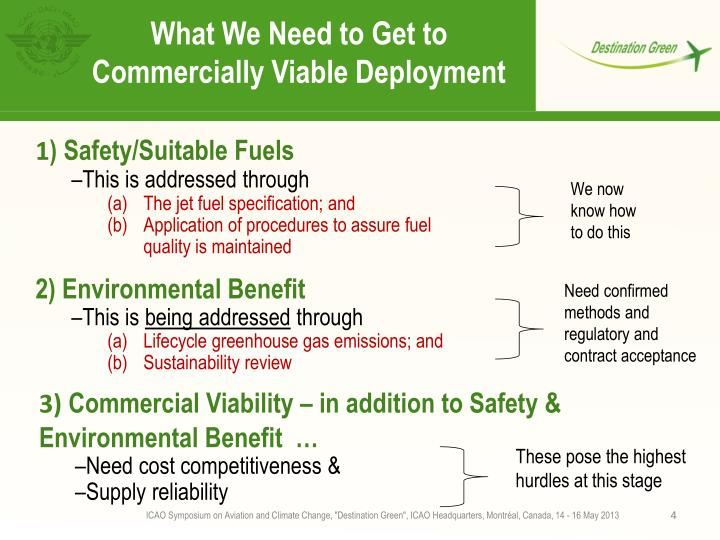 What We Need to Get to Commercially Viable Deployment