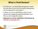 what is fluid review