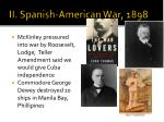 ii spanish american war 1898