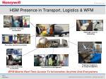 hsm presence in transport logistics wfm