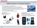mobile payment increased adoption